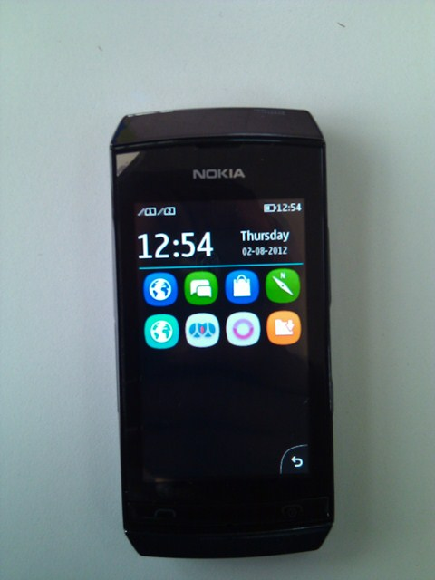 August 2, 2012 at 480 × 640 in Nokia Asha 305 in pictures [Gallery