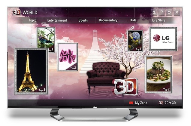 the lg cinema 3d smart tv publish with glogster. Black Bedroom Furniture Sets. Home Design Ideas