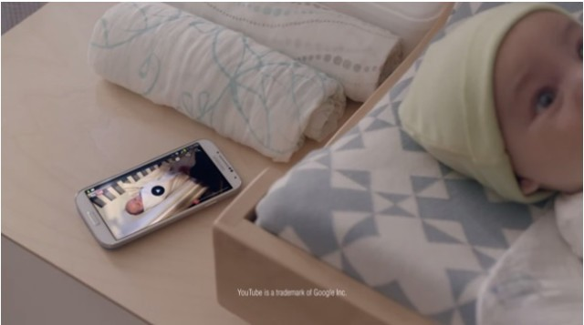 Samsung Galaxy S 4 Swaddle ad shows how to be a great dad