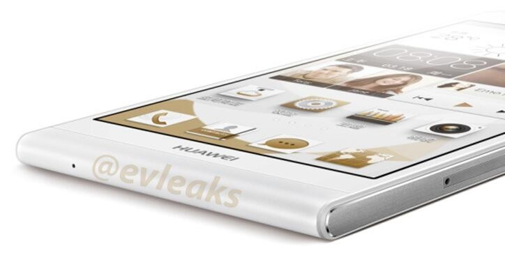 Newest render leak shows Huawei Ascend P6 to be one beauty