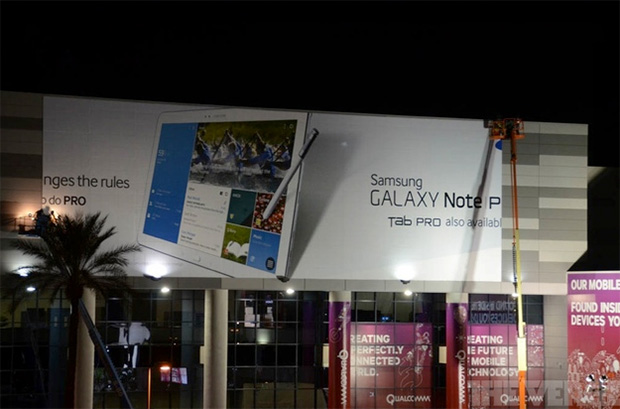 Samsung to Unveil Galaxy Note Pro and Galaxy Tab Pro, Billboard confirms