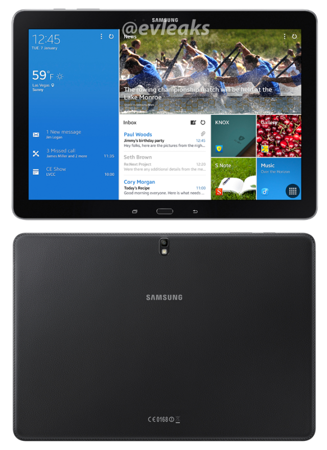 LEAKED! Specs for four Samsung Tablets in the Pro Series, includes Galaxy Pro 8.4 image