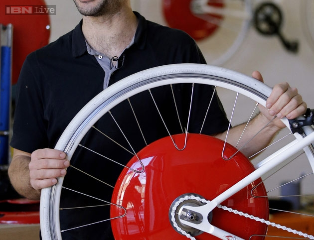 The Future Is Here The Copenhagen Wheel Turns Bicycle