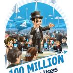 Telegram Messenger 100 million users