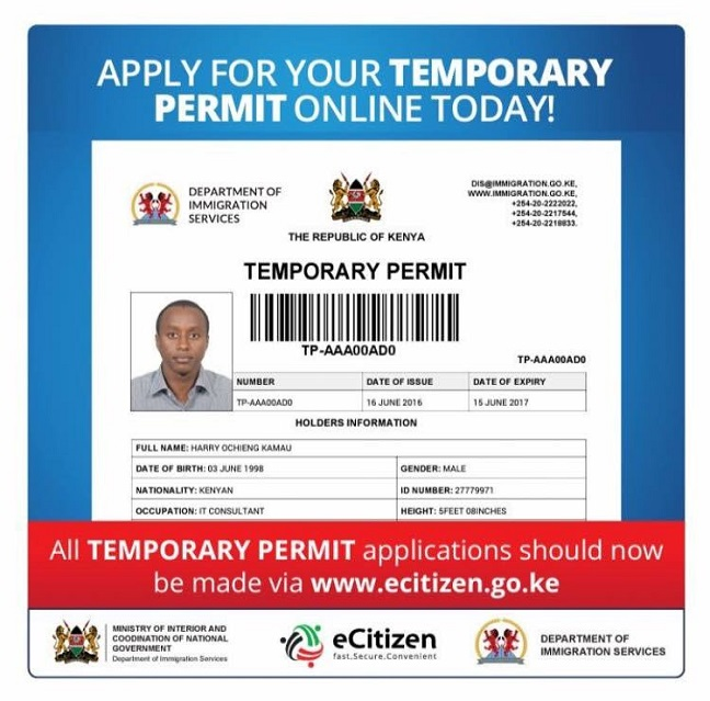 How To Make Money To Travel Temping: Kenyans To Apply For Temporary Travel Permits Online