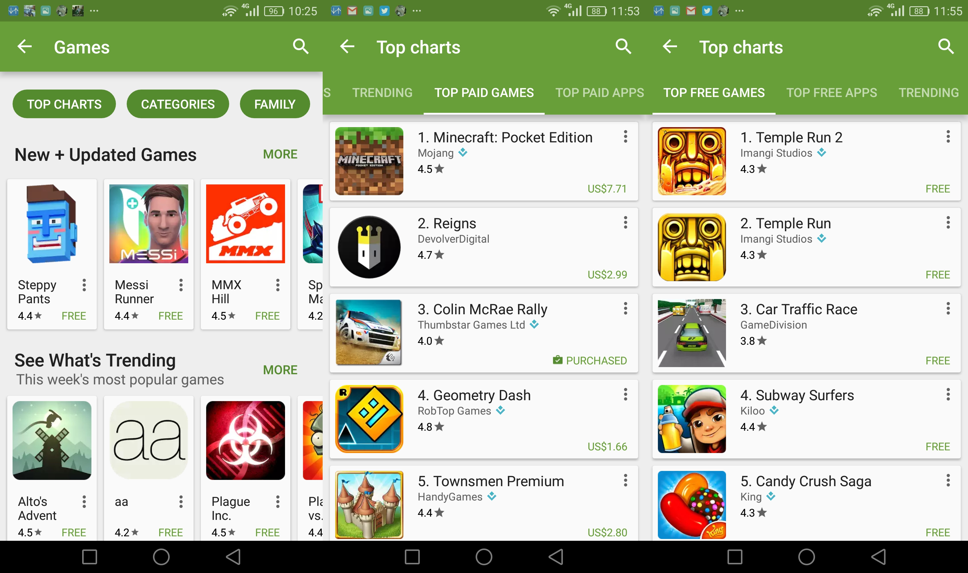 play store free games