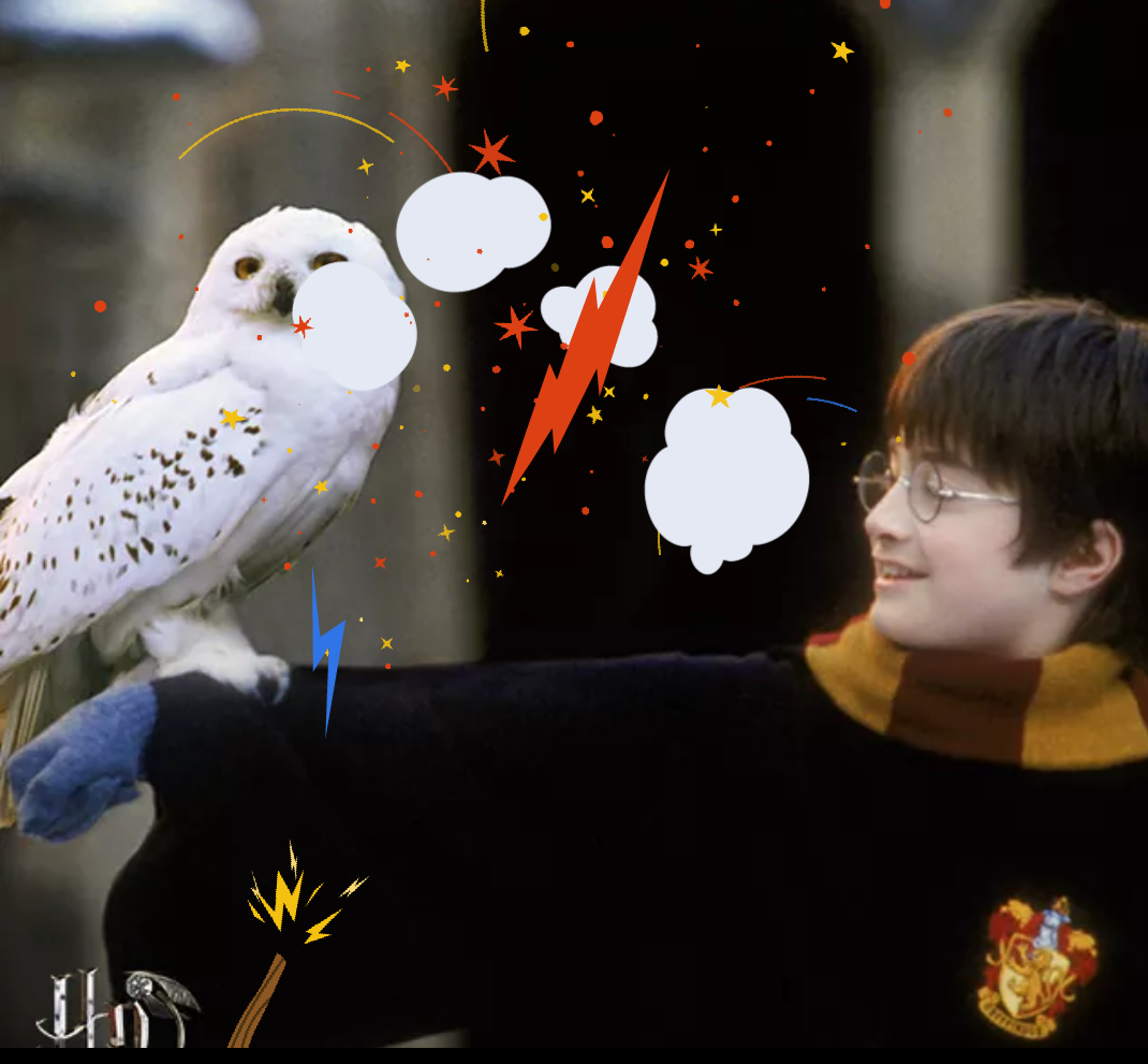 Harry Potter Book Easter Eggs : Facebook has a neat harry potter easter egg to celebrate