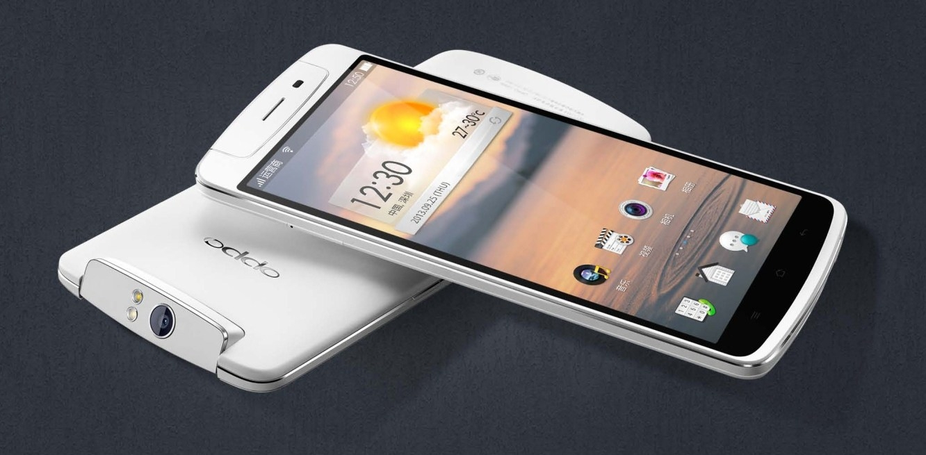 Remember the OPPO N1 That Had a Rotating Camera and Ran ...
